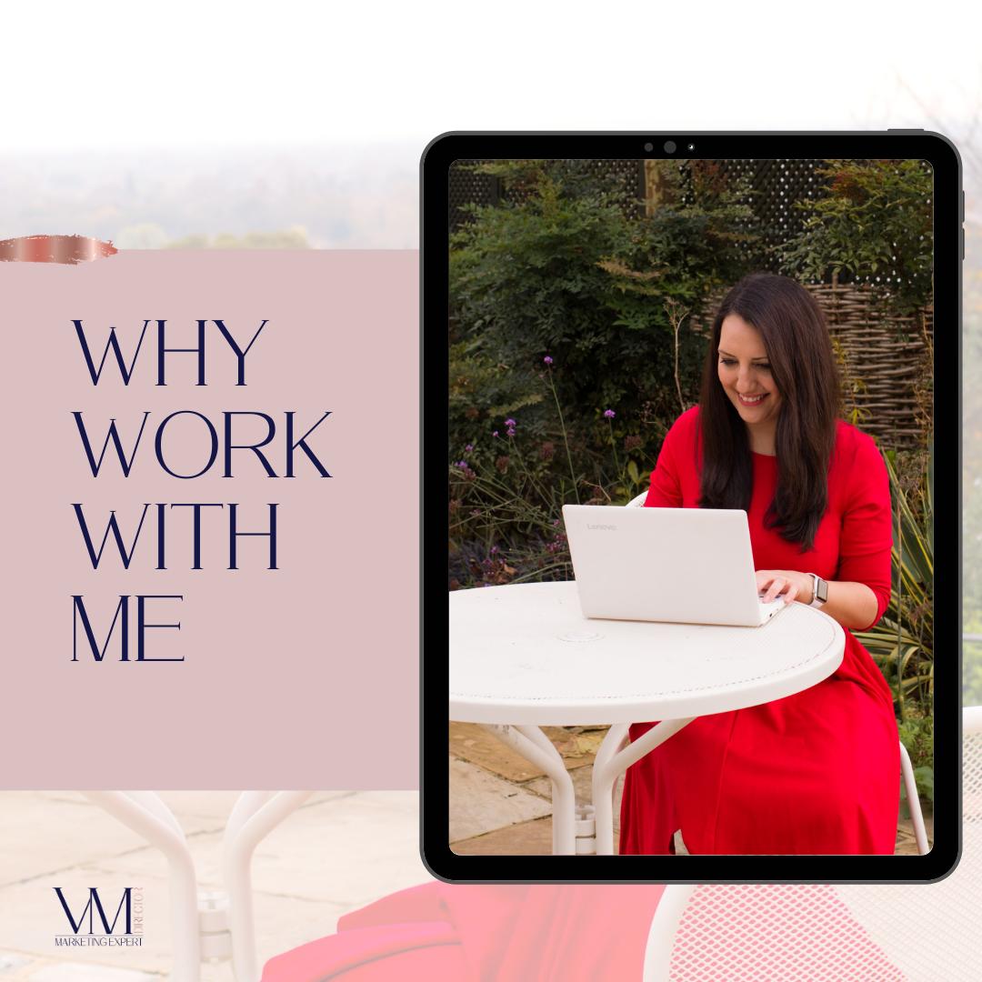 Virtual Marketing director, marketing strategist, MA in marketing, work with me